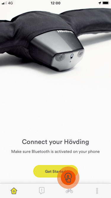 Guide Hövding App: Hövding's battery drains fast