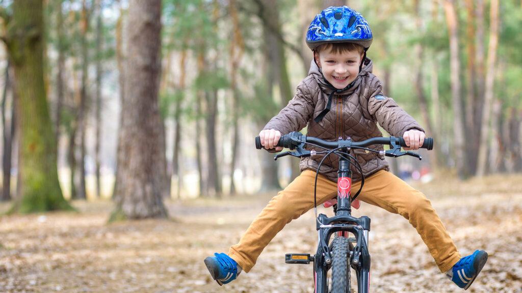 Why bicycle helmet?